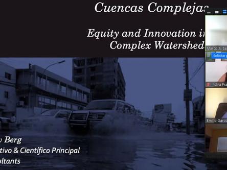 Tecnologías innovadoras para la gestión de recursos hídricos