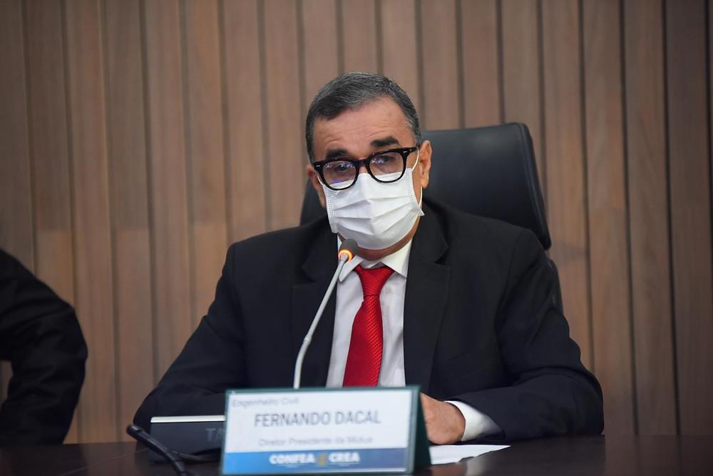 Presidente da Mútua, eng. civ. Fernando Dacal Reis