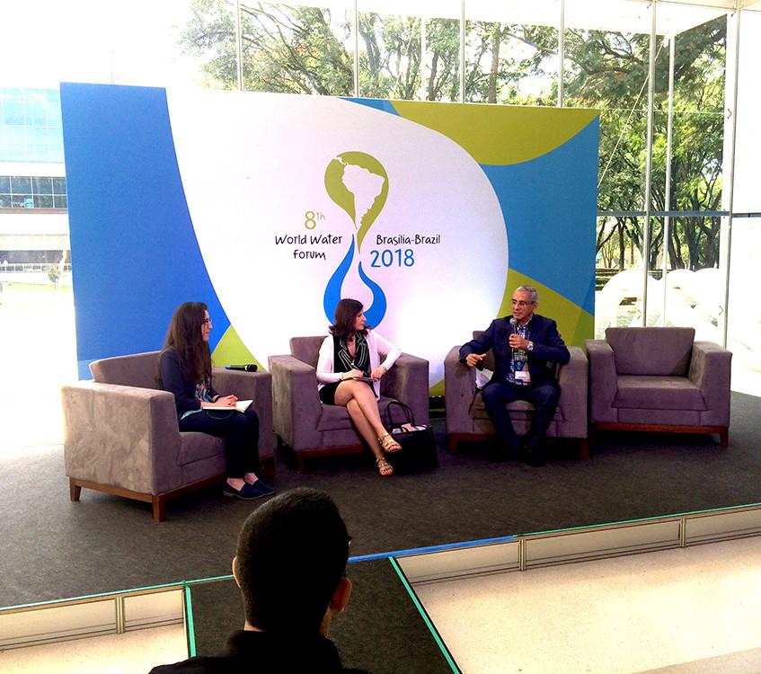 Hydro-Café - Transparência na informação sobre os recursos hídricos o uso da mídia e do ativismo  Foto: Rogério Nunes