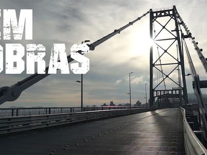 Presidente da ACE, Roberto Oliveira, participa de documentário sobre a restauração da Ponte Hercílio