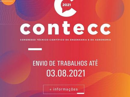 Prazo para envio de trabalhos do Contecc vai até 03 de agosto