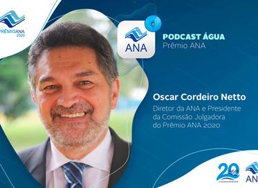 Está no ar novo Podcast Água sobre o Prêmio ANA 2020