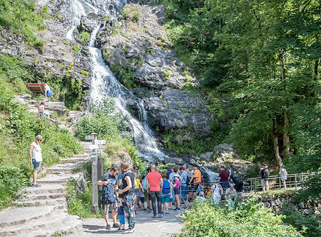 トトナウの滝 todnauer Wassefallr