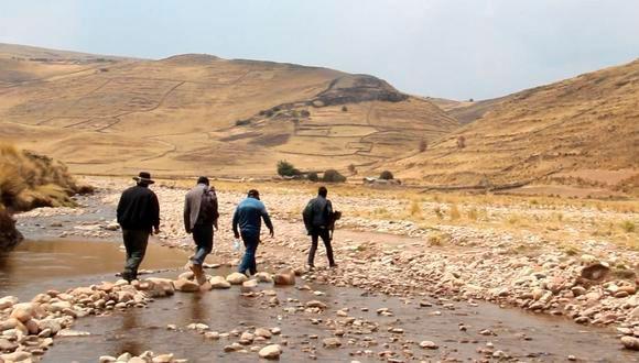 Huancané: Irrigación Solitario iniciará a ejecutarse en el año 2021