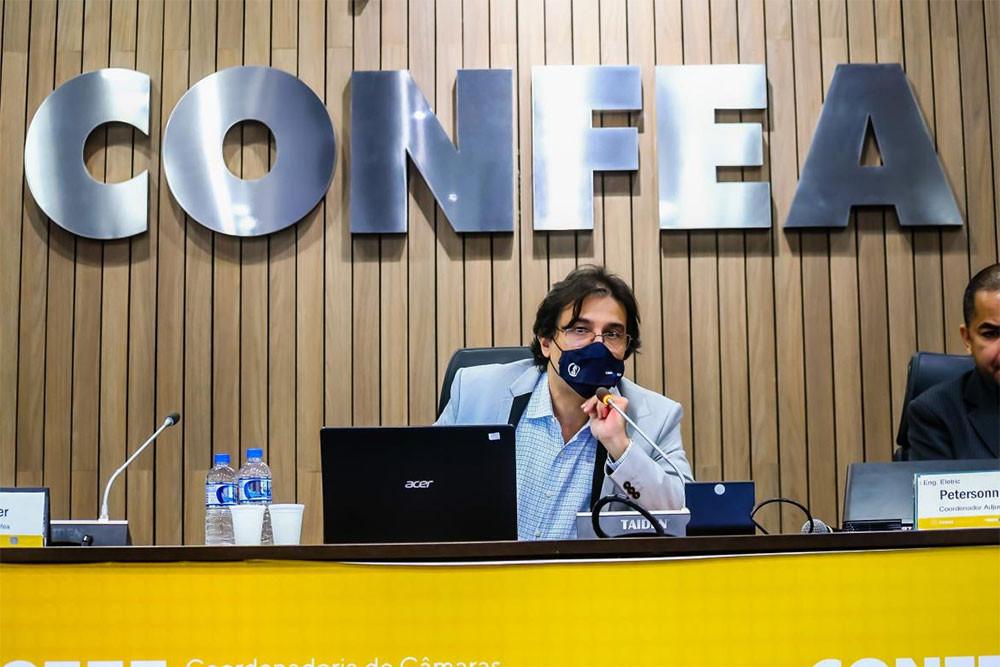 Coordenador Rogério Moreira Lima descreve as principais propostas da Câmara a serem apreciadas pelo plenário do Confea