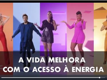 Estrelas lançam videoclipe em favor da energia limpa