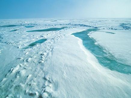 Gelo marítimo do Ártico atinge novo recorde mínimo para o inverno, dizem cientistas