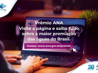 Empresas de todo o Brasil podem inscrever boas práticas relacionadas à água no Prêmio ANA 2020