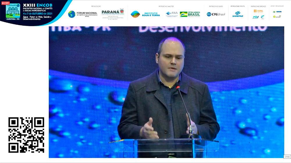 Gustavo Possetti - Gerente de Pesquisa e Inovação da SANEPAR