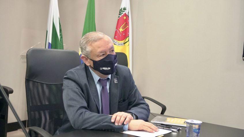 Presidente do Crea-PR, eng. civ. Ricardo Rocha.