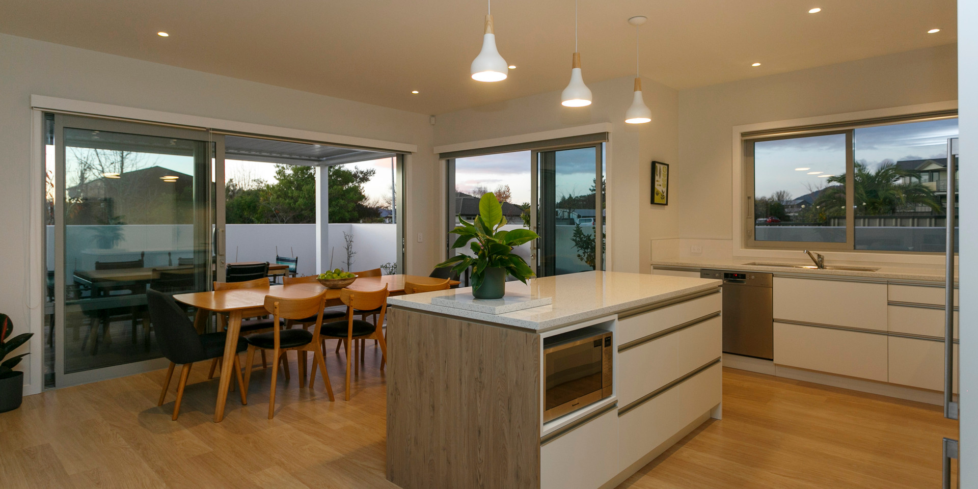 Open Plan Kitchen Dining Taupo
