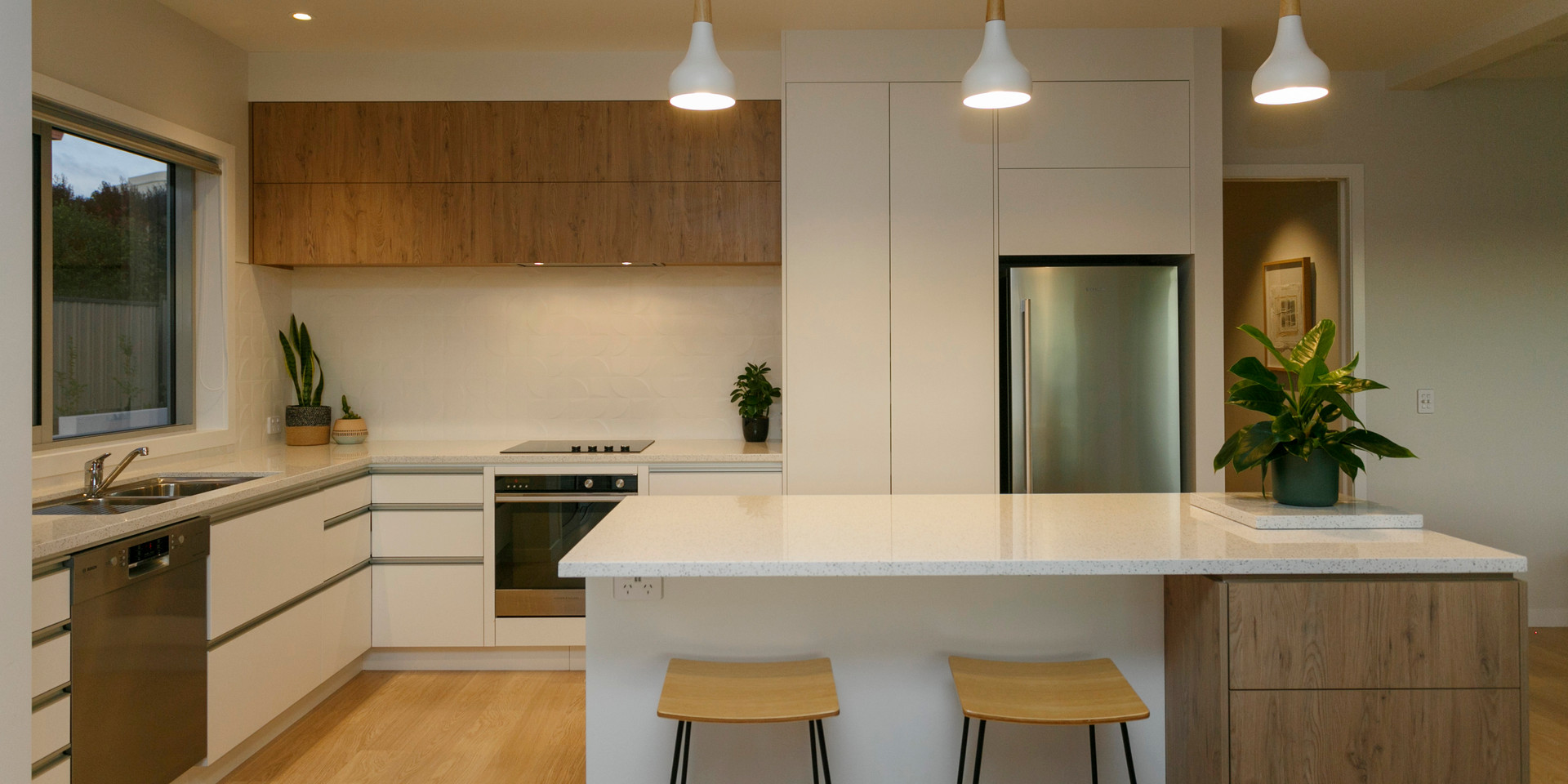 Modern Kitchen Lake Taupo