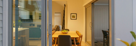 Modern Taupo Dining Area