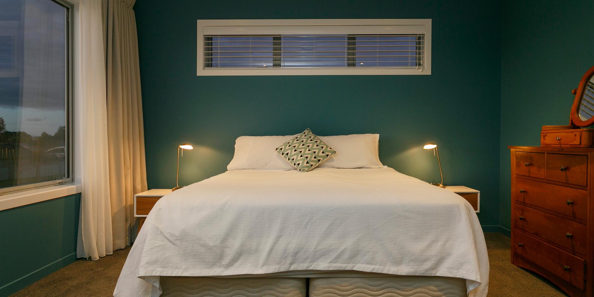 Master Bedroom Lake Taupo