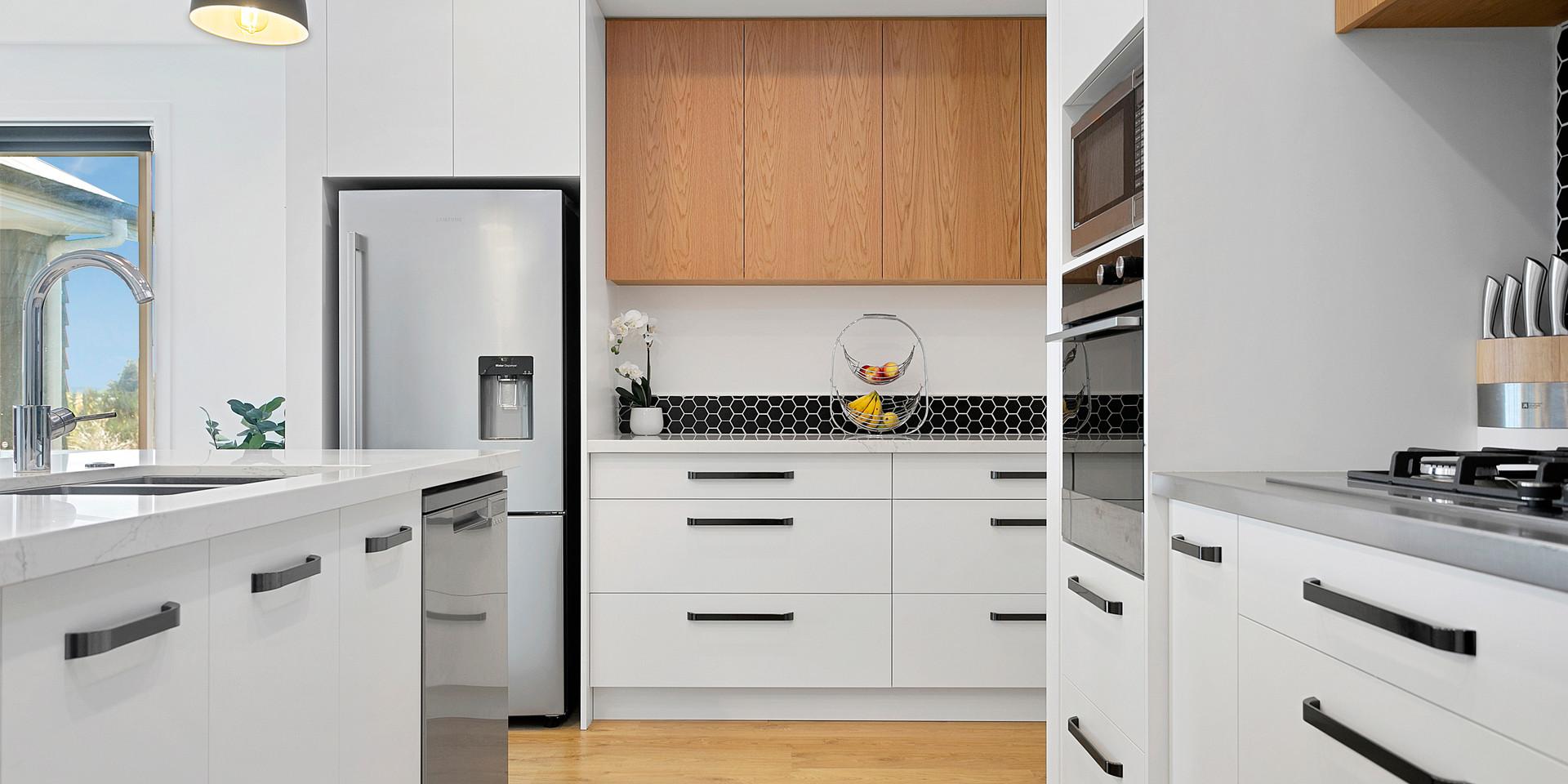 Custom Galley Kitchen Taupo