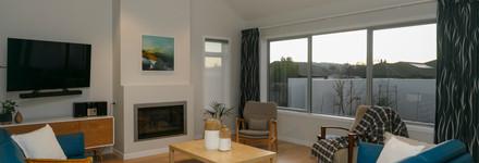 Two Storey Lake Taupo Living Room