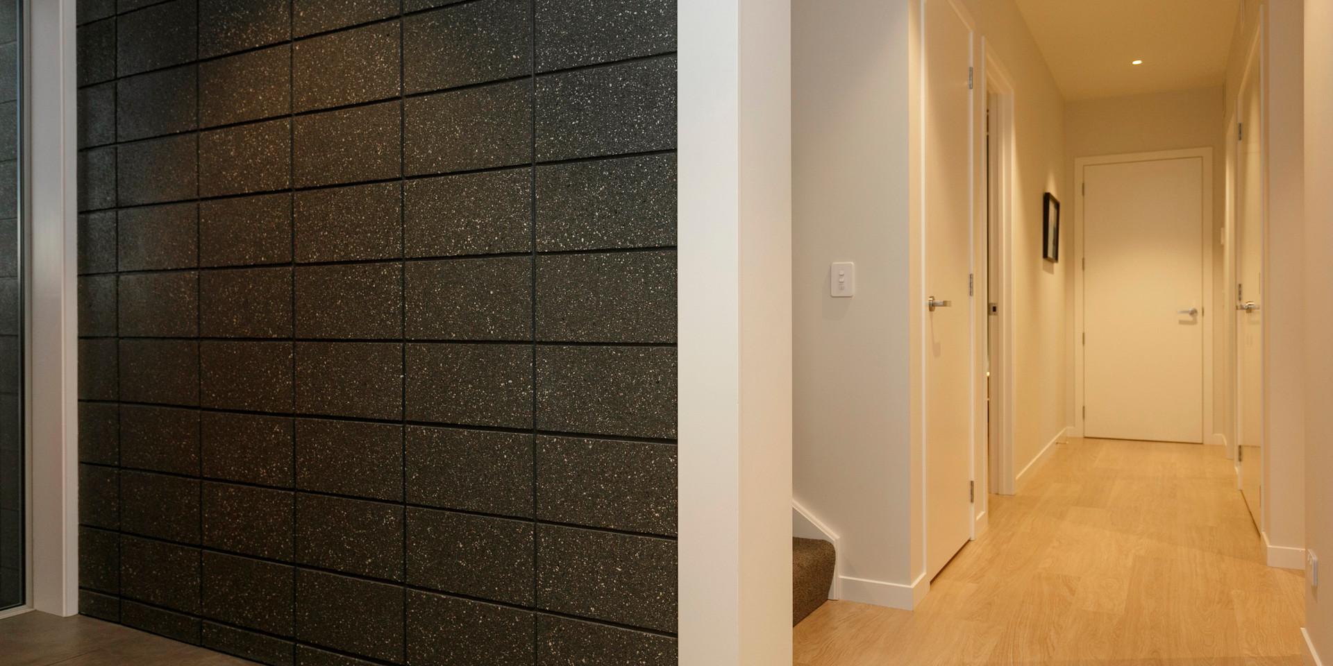 Brick Entryway and Hallway