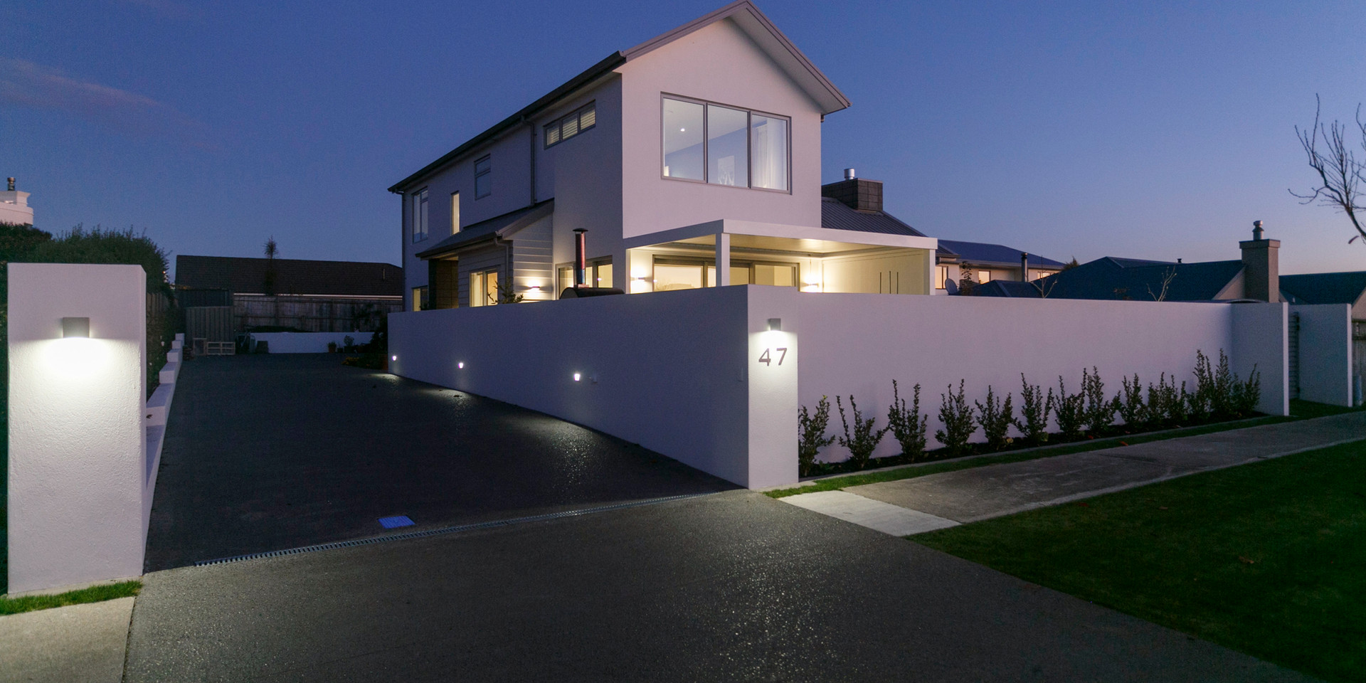 Exterior Lighting Lake Taupo