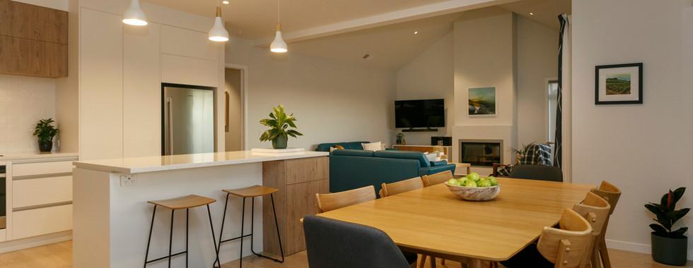 Open Plan Kitchen Dining Living