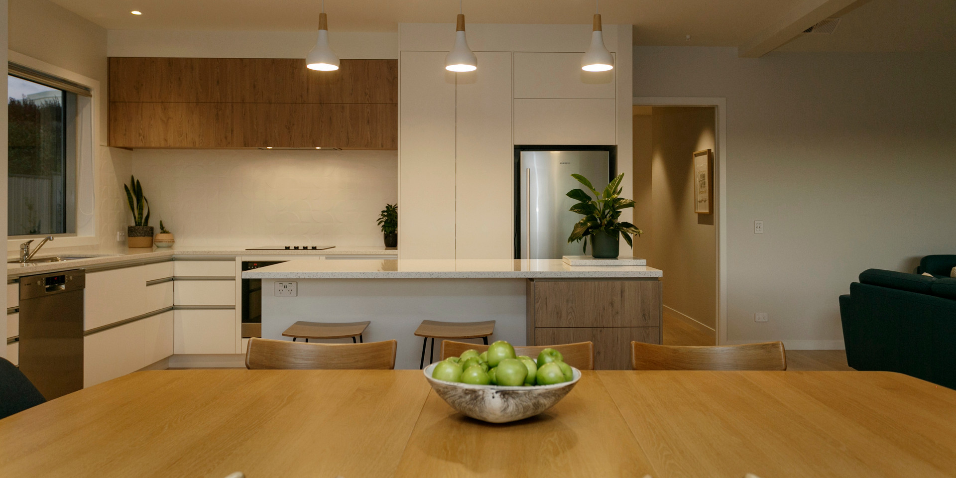 Kitchen Dining Contemporary Taupo Home