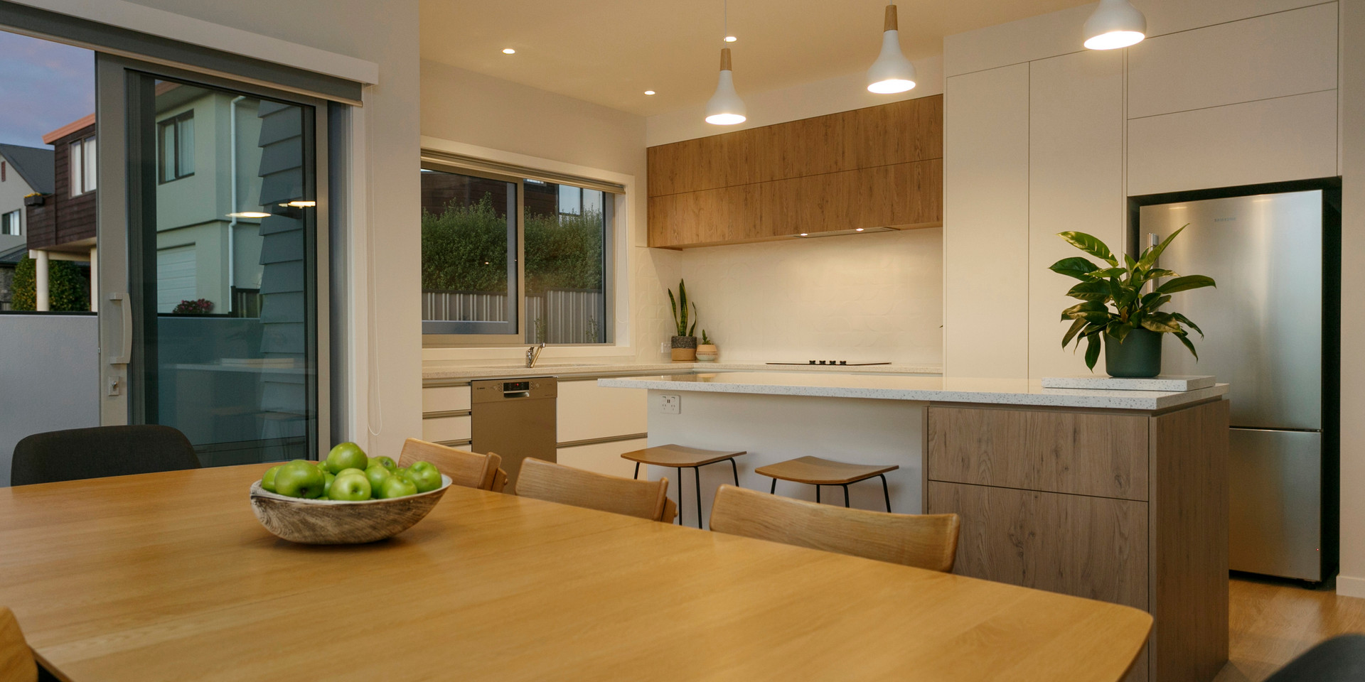 Large Open Plan Kitchen Dining Areas