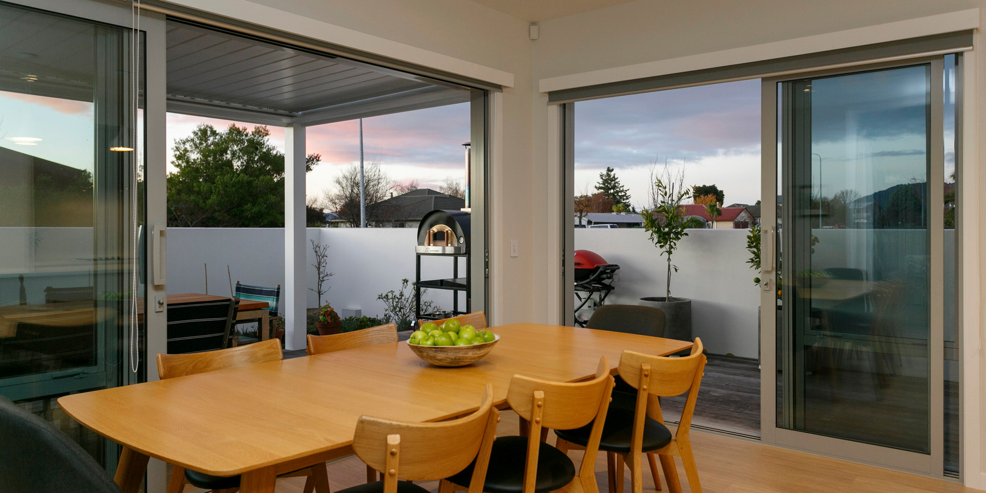 Indoor Outdoor Dining Areas Lake Taupo