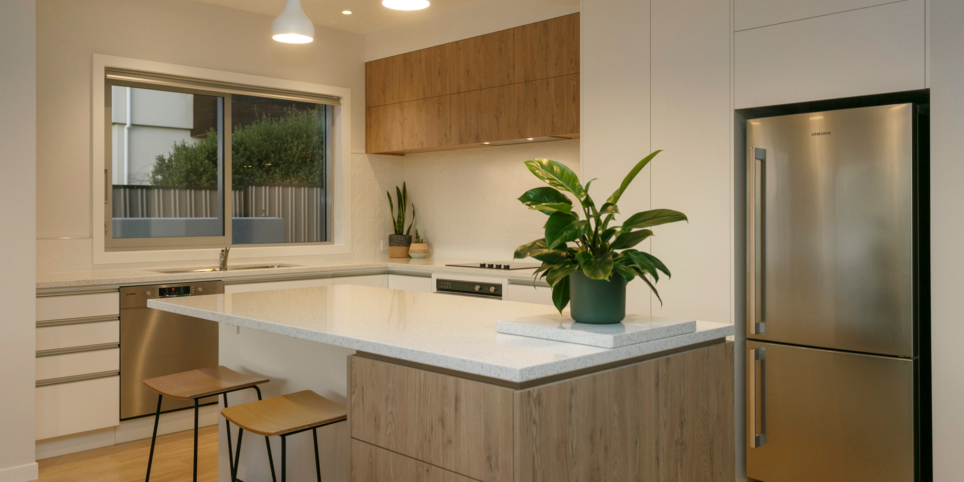 Contemporary Kitchen Lake Taupo