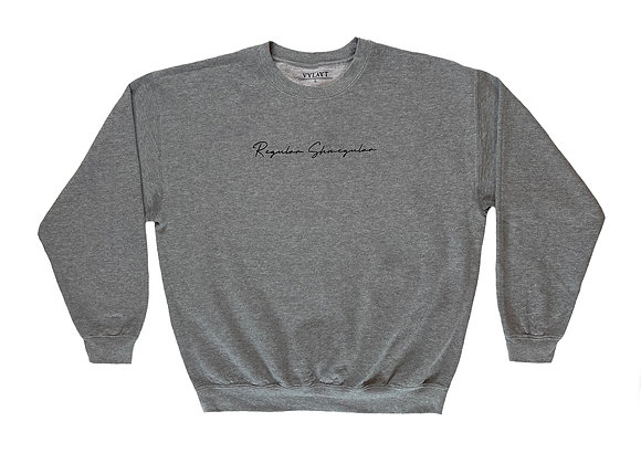 Regular Shmegular - Athletic Grey