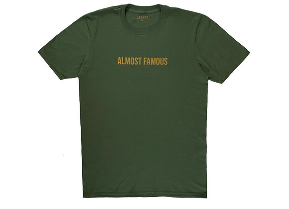 Almost Famous - Military Green/Gold
