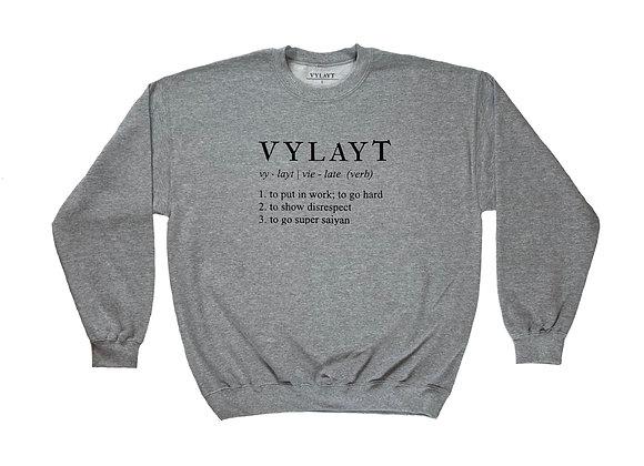 Vylayt Definition - Athletic Grey