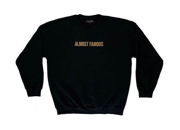 Almost Famous - Black/Gold