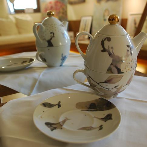 Set Tè per una persona conico (5)