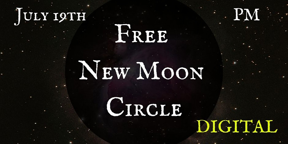Digital New Moon Circle with Autumn Austin