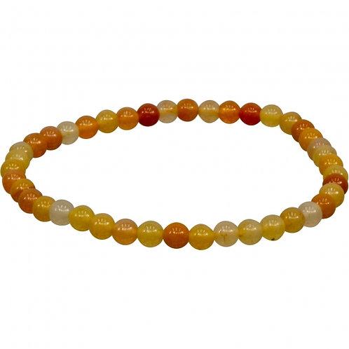 Yellow Jade 4mm