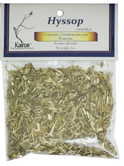 Hyssop Cut & Sifted .5oz