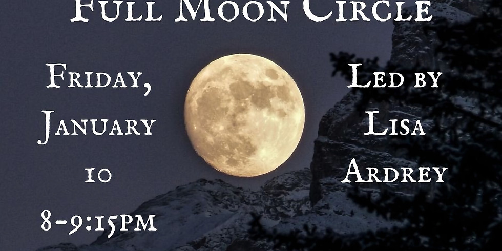 Free Event! Full Moon Circle
