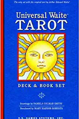 Universal Waite Tarot Deck&Book Set
