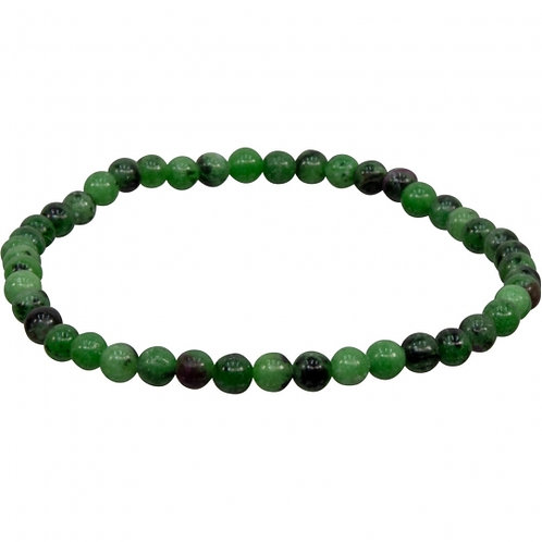 Ruby Zoisite 4 Mm