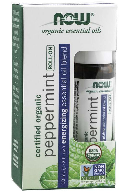 Organic Roll On - Peppermint