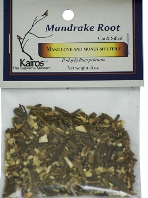 Mandrake Root Cut & Sifted .5oz