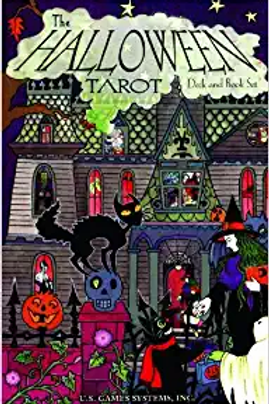 Halloween Tarot / Book Set
