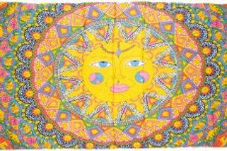 Sarong - Multi Colored Sun 44x72