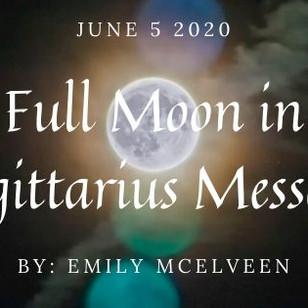 Full Moon in Sagittarius Message
