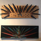 Awesome new feather art from a local art