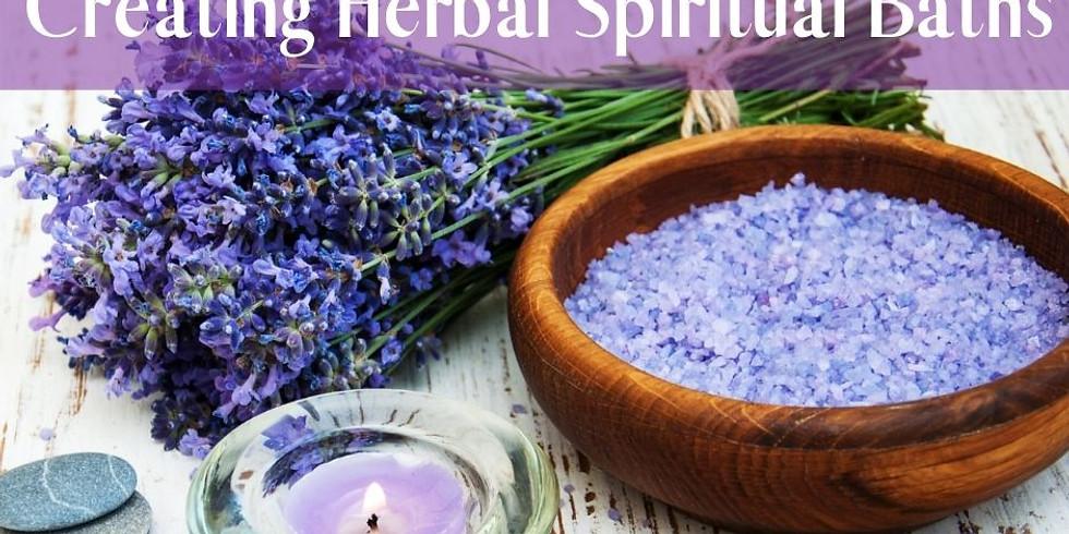 DIY Herbal Spiritual Baths