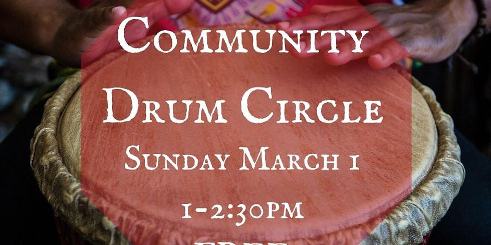 Community Drum Circle - FREE EVENT!