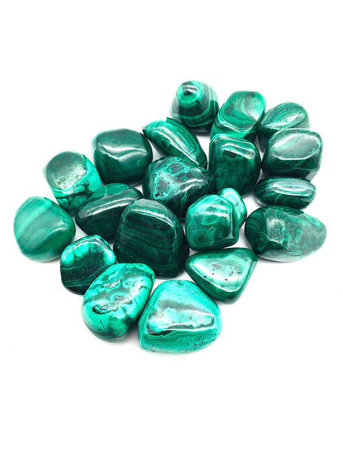 Malachite Tumbled Pebbles
