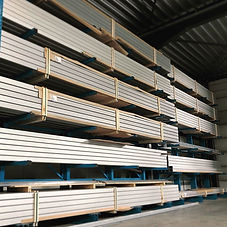 aluminium kederprofiel tent