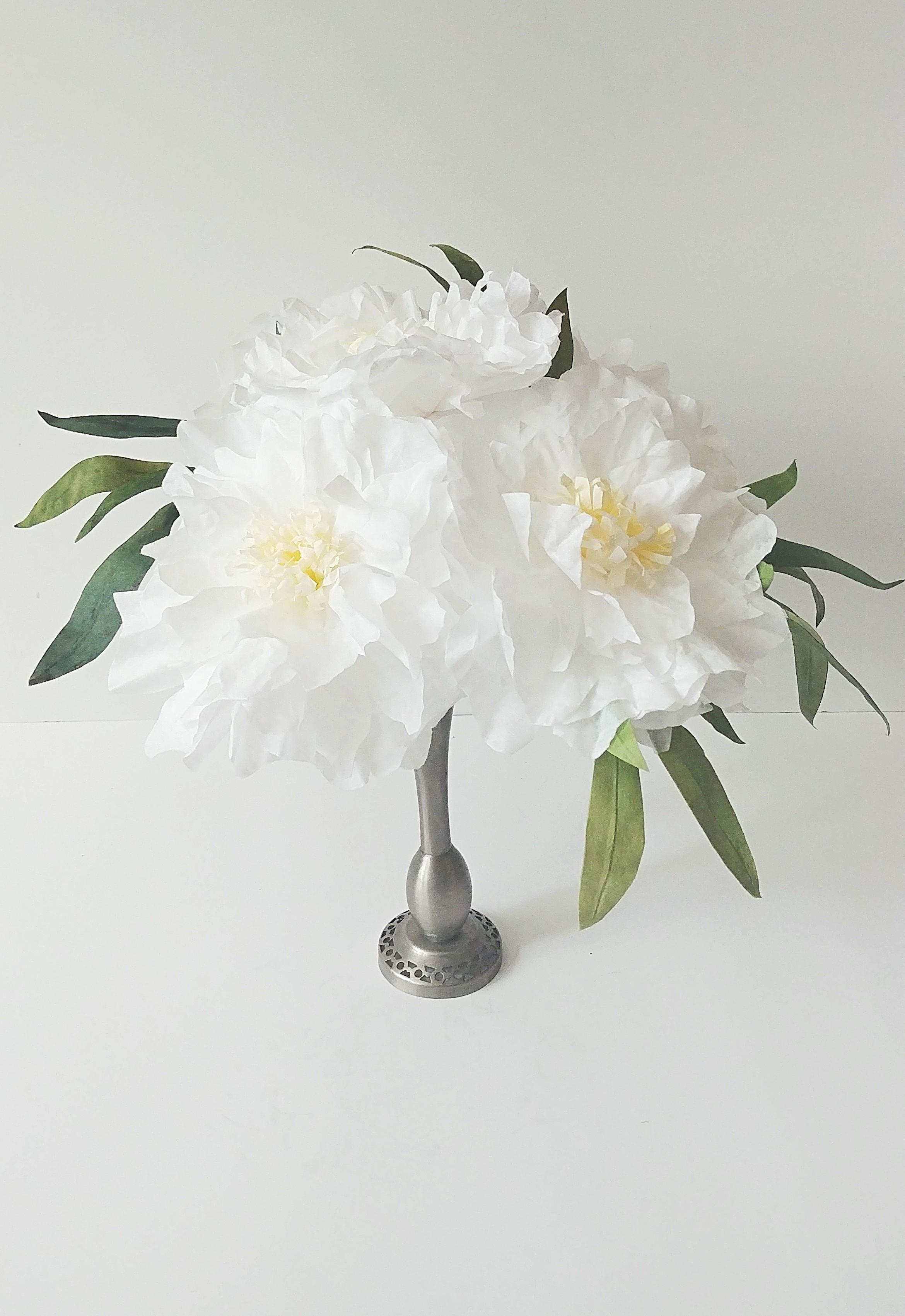 Tree Peonies & Olive Greens