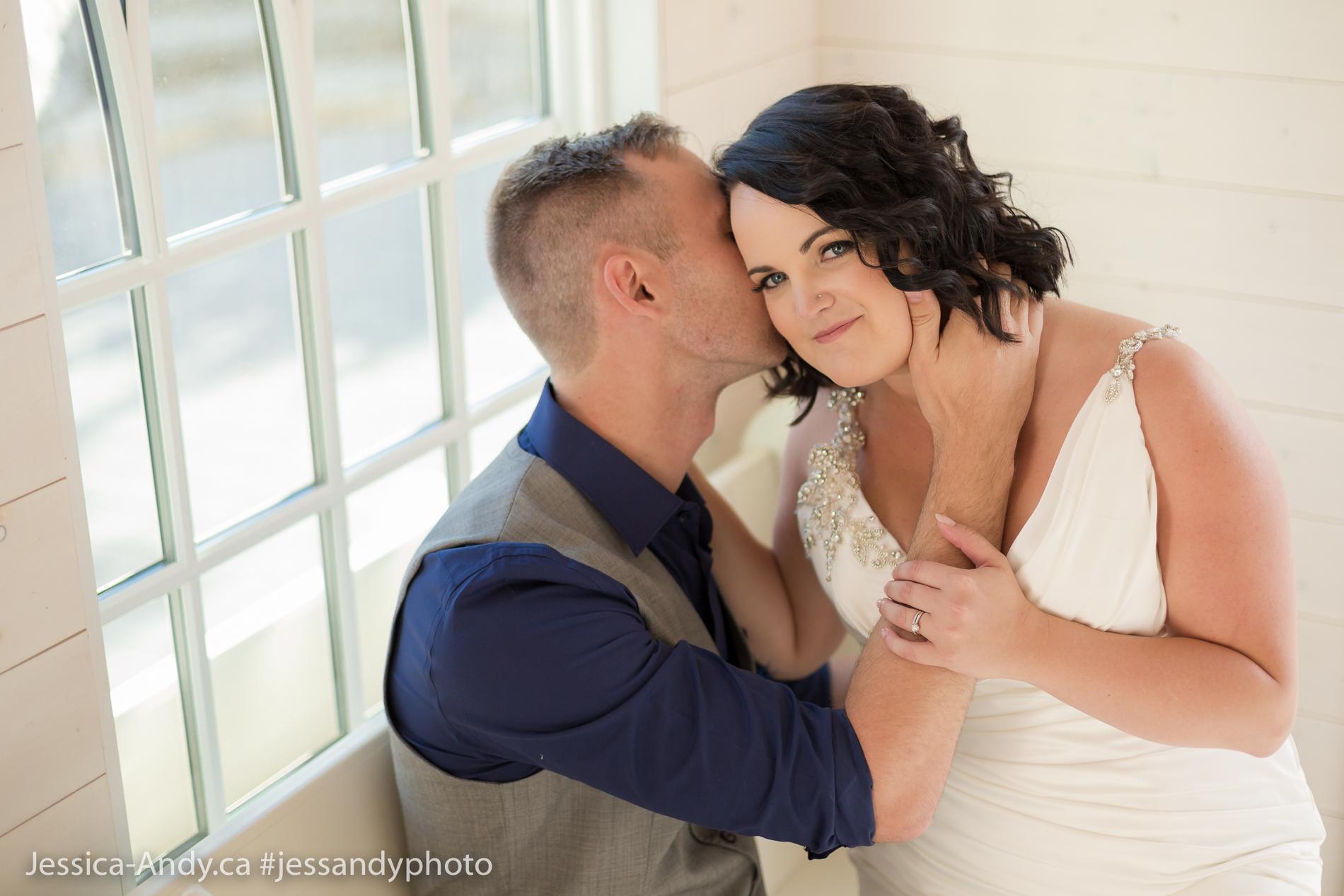 Just Married - Kelowna Wedding Venue